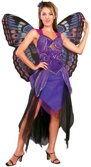 Костюм бабочки фиолетовый (46) - Животные и зверушки, р.46