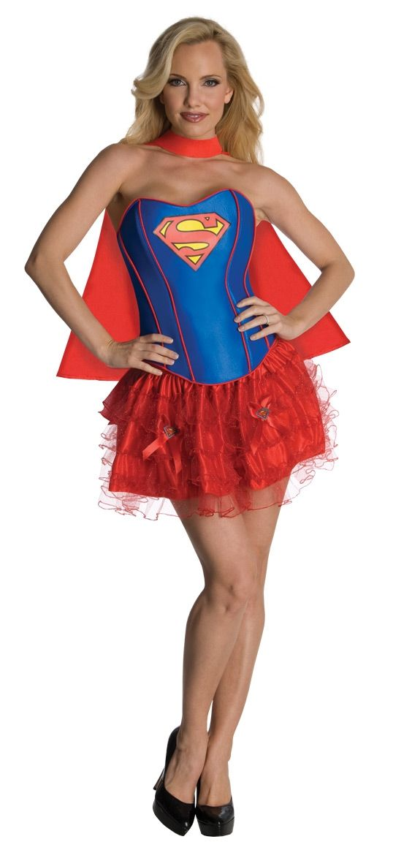 Костюм очаровательной супергерл (46) - Супергерои и комиксы, р.46