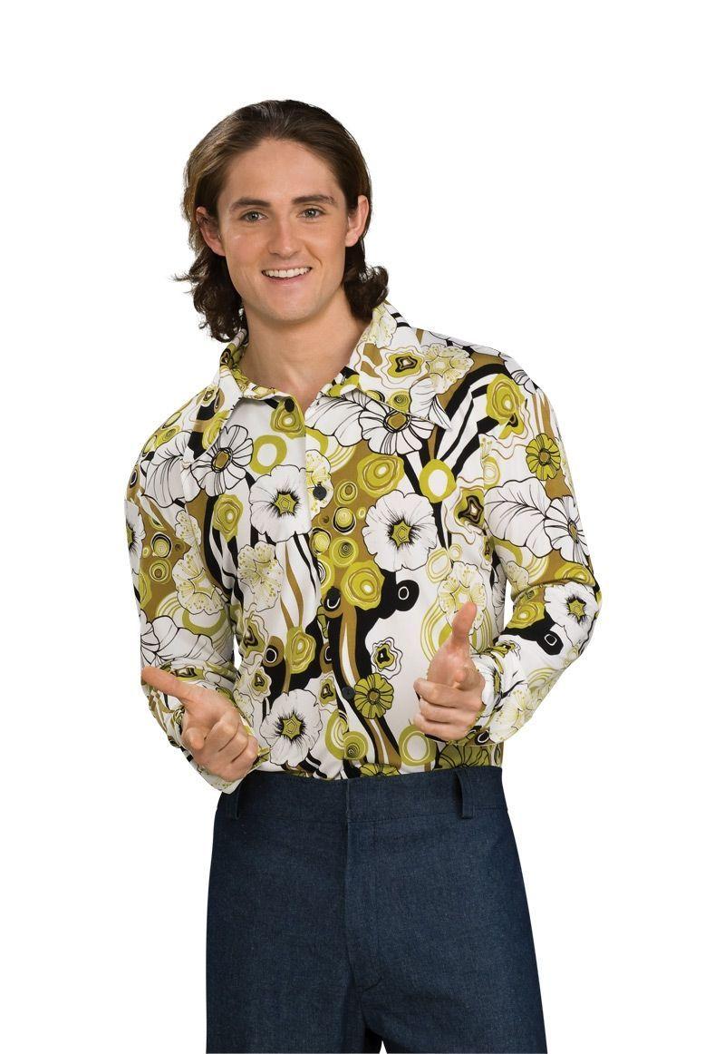 Зеленая рубашка стиляги (52)