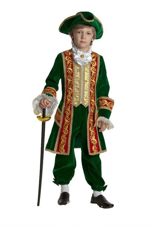 Детский костюм Петр-1 (40) - Национальные костюмы, р.40
