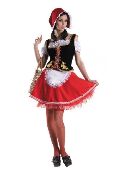 Костюм русской Красной Шапочки (48) костюм прекрасной шапочки 30