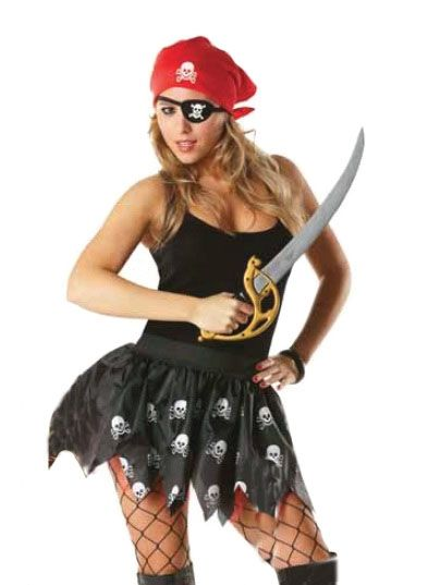 Юбка для пиратки (UNI) -  Пираты и моряки