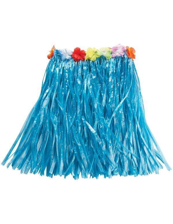 Голубая гавайская юбка (UNI) - Национальные костюмы