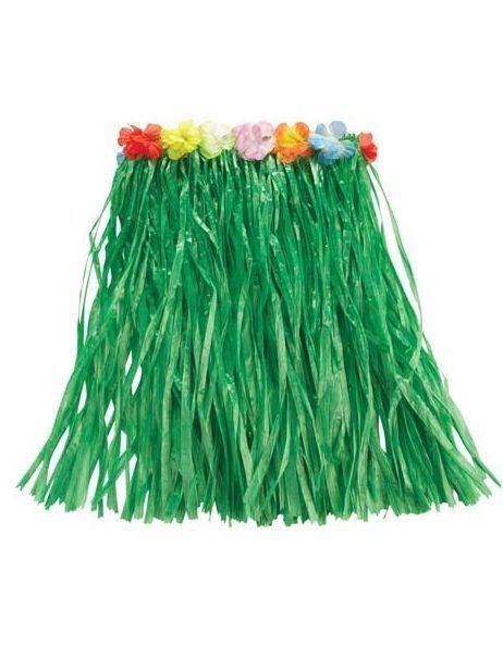 Зеленая гавайская юбка (UNI) - Национальные костюмы