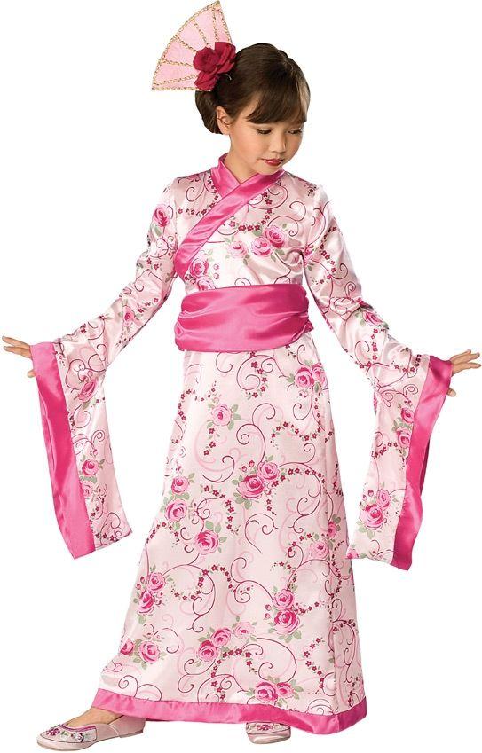 Костюм азиатской принцессы (28-30) - Национальные костюмы, р.28-30