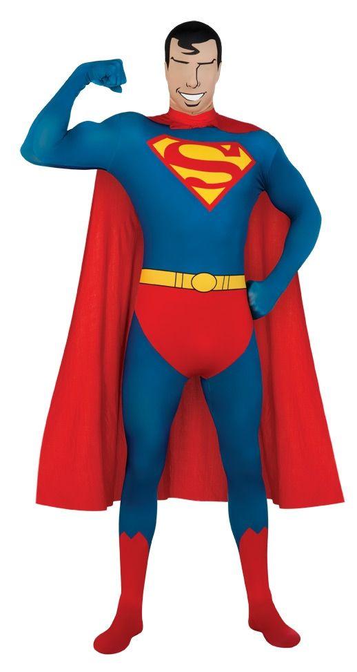 Костюм супермена вторая кожа (54) - Супергерои и комиксы, р.54