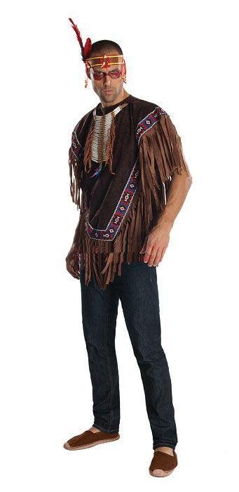 Пончо индейца (54) - Исторические костюмы, р.54