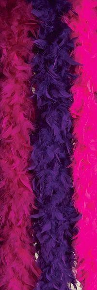 купить Боа из перьев фиолетовое (UNI) недорого