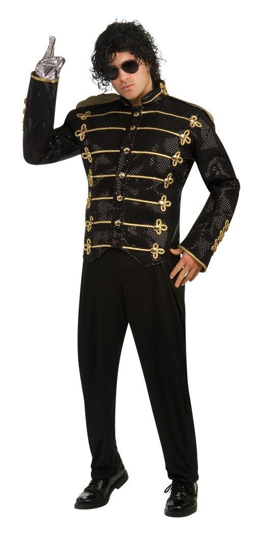 Черный милитари пиджак Майкла Джексена (50) - Знаменитости, р.50