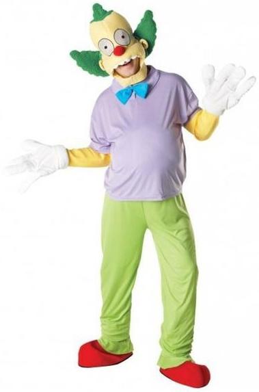 Костюм Красти клоуна Премиум (44-46) детский костюм клоуна весельчака 38