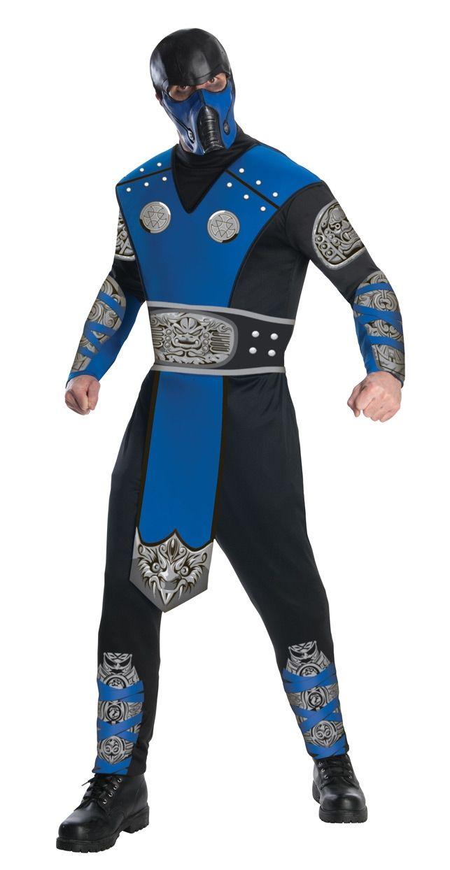 Классический костюм Саб-Зиро (52) - Герои видеоигр, р.52