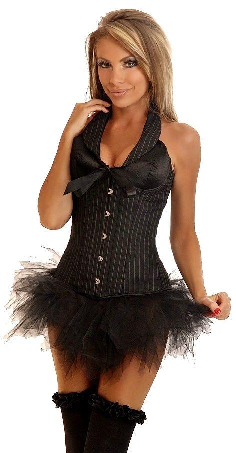 Черный корсет деловая женщина (44) Dg Lover 130637602