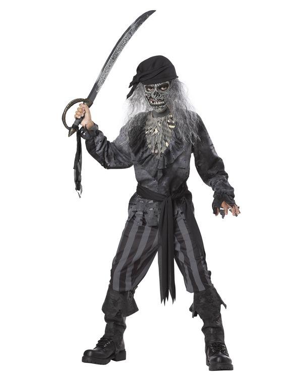 Детский костюм пирата с Корабля-призрака (42) - Пираты и моряки, р.42