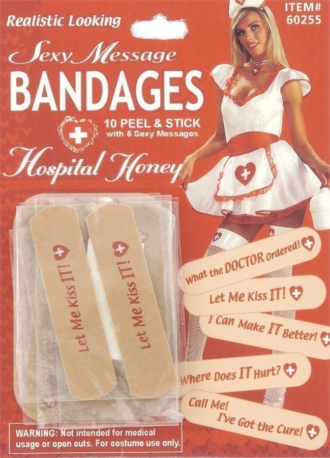 Лейкопластыри с надписями (42-46) - Медсестры, р.42-46