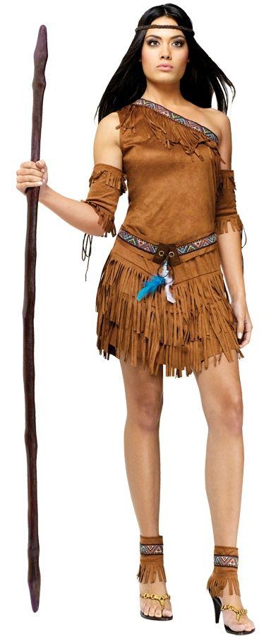 Женский костюм вождя племени (46-48) - Исторические костюмы, р.46-48