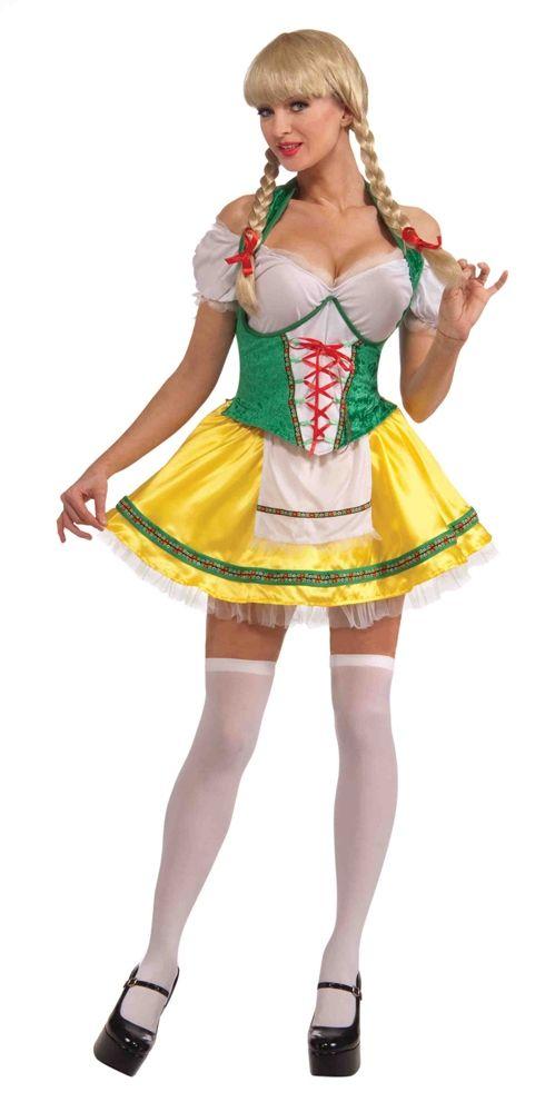 Костюм девушки с пивной вечеринки (46-48) - Национальные костюмы, р.46-48