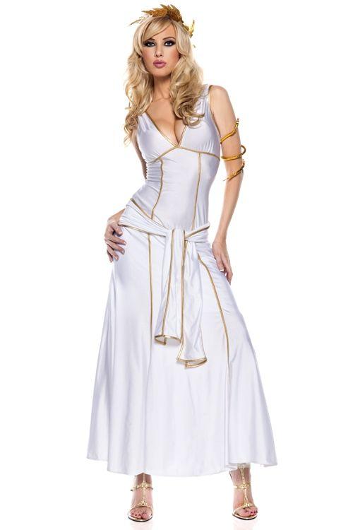 Белый костюм Богини Олимпа (46-48) - Исторические костюмы, р.46-48