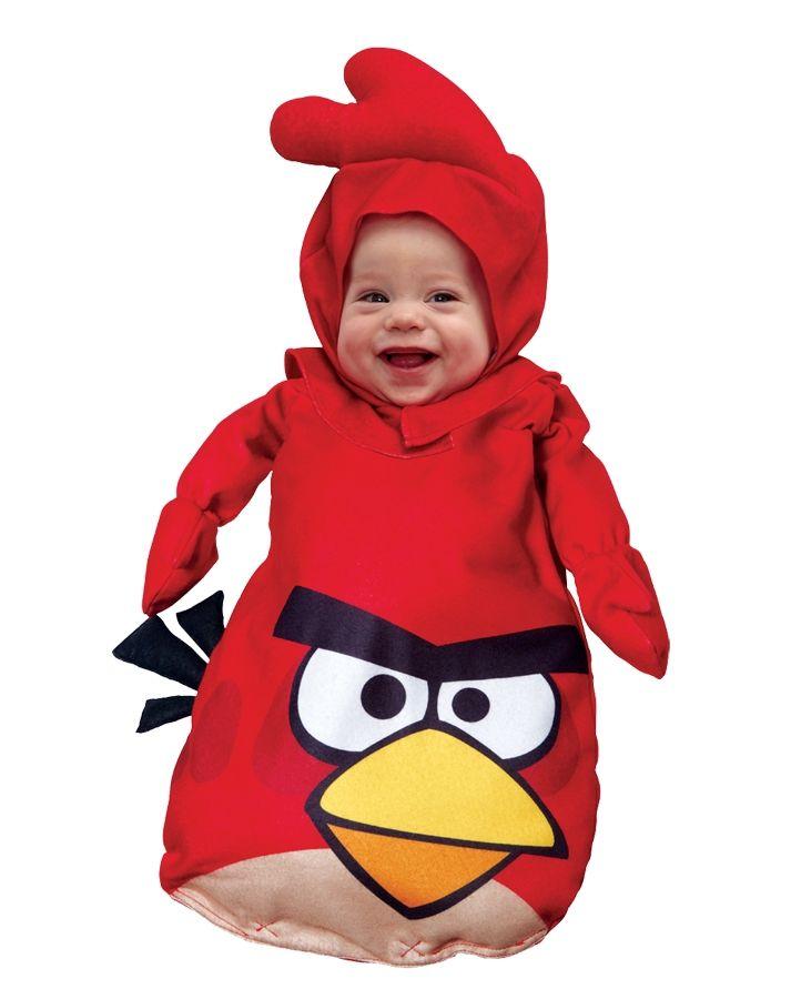 Красный костюм Angry Birds для малышей (18-22) - Животные и зверушки, р.18-22
