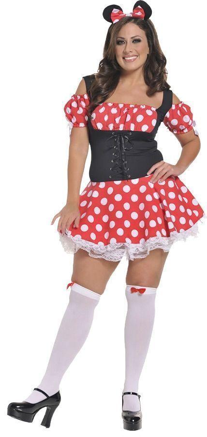 Корсетное платье мышки Минни (52) - Сказочные герои, р.52