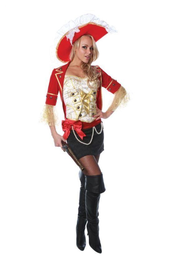 Стильный костюм пиратки (42-44) - Пираты и моряки, р.42-44