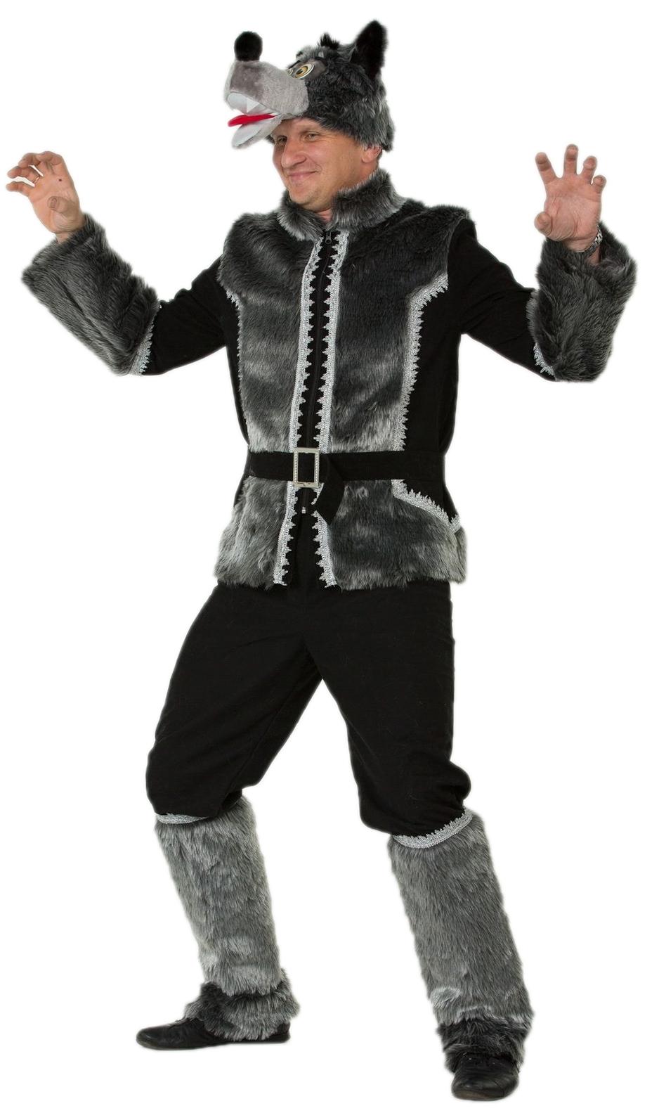 Бархатный костюм Серого Волка (52) - Сказочные герои, р.52