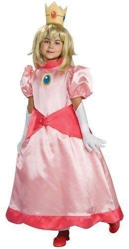 Детский костюм принцессы Пич (28) - Герои видеоигр, р.28