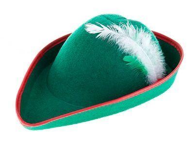 Баварская зеленая шляпа (UNI) - Шляпы карнавальные