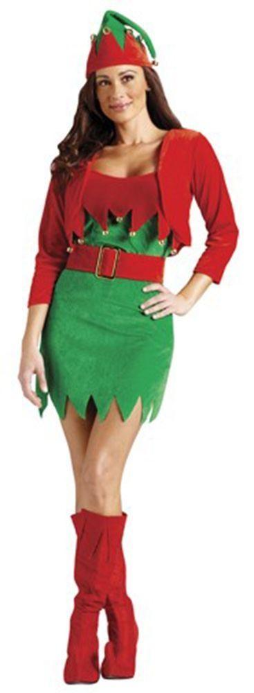 Женский костюм рождественского эльфа (42-44)