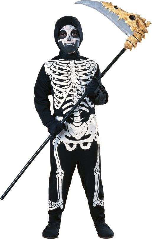 Костюм скелета для детей (S)