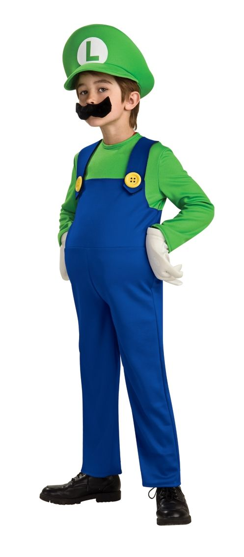 Детский костюм Луиджи Deluxe (30)