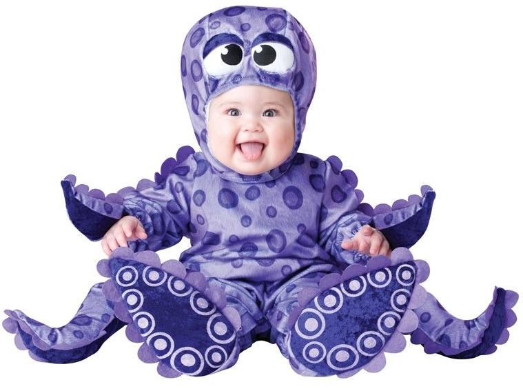Костюм осьминога (M) - Животные и зверушки