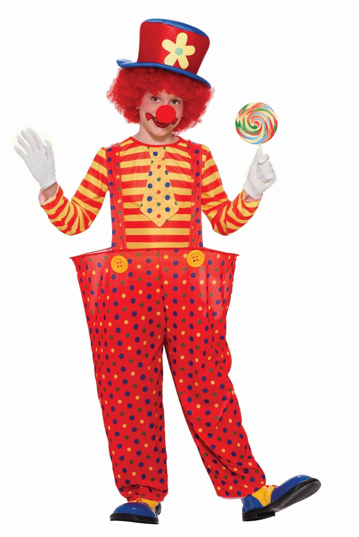 Костюм озорного клоуна детский (30)