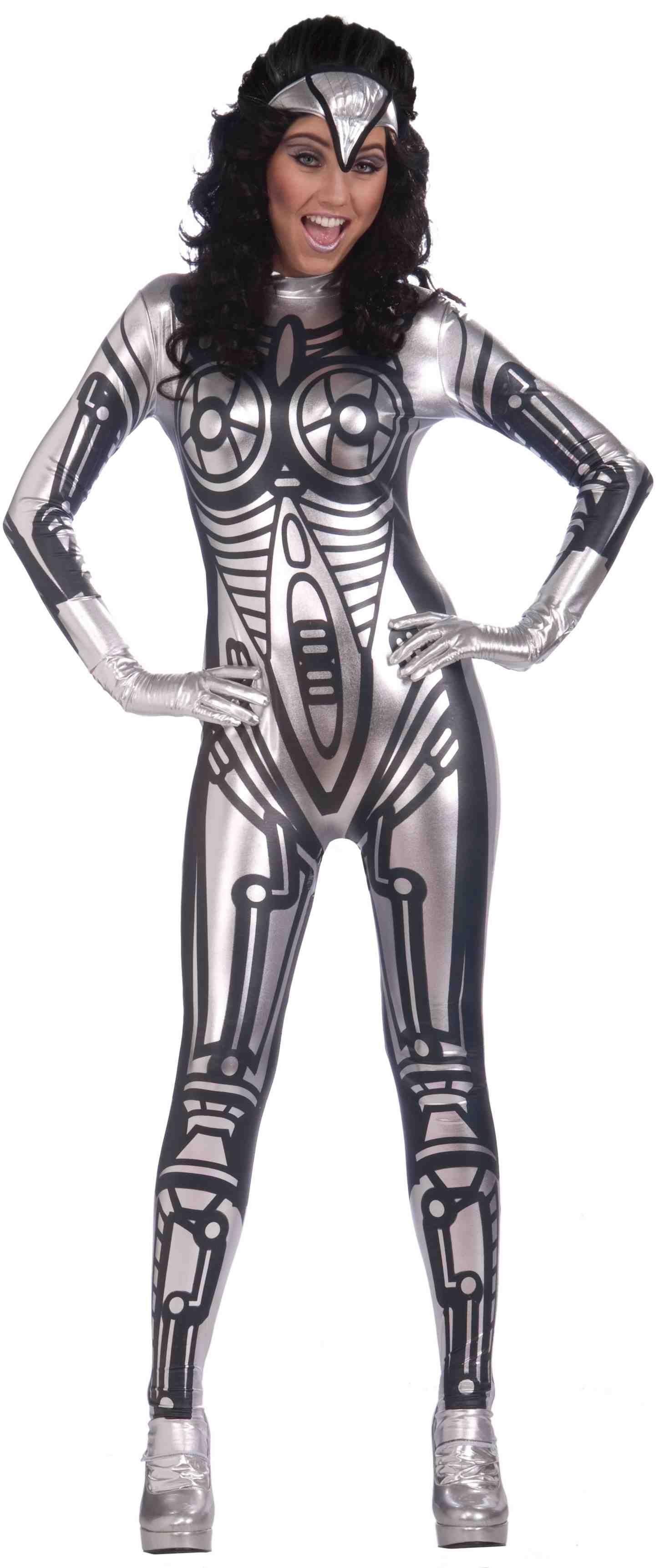Женский костюм робота (46-48)