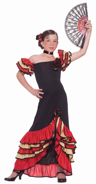 Костюм танцовщицы фламенко детский (30) от Vkostume