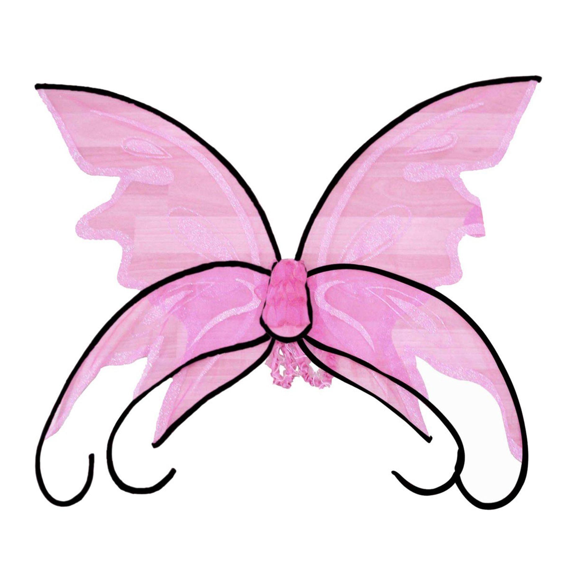 Розовые крылья бабочки (UNI) крылья бабочки 39х46