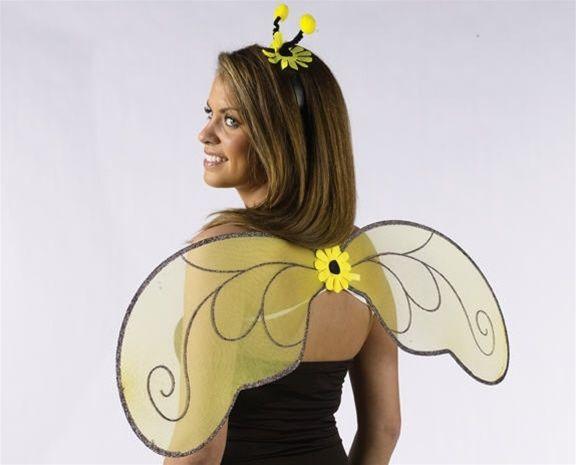 Как сделать крылья пчелки в домашних условиях