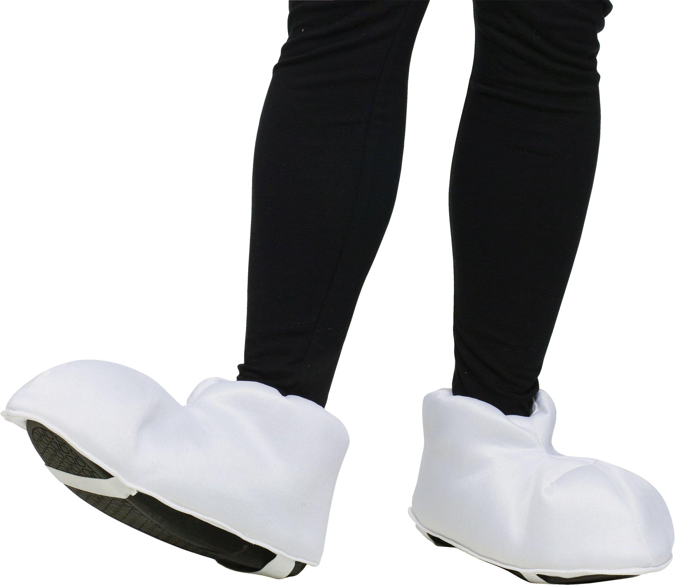 Мультяшные белые ноги от Vkostume