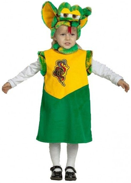 Костюм змейки-малышки (28) костюм малышки лейлы 34