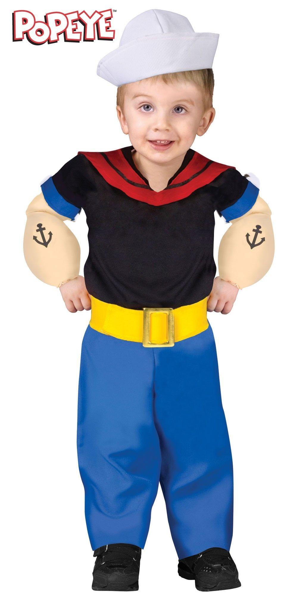 Детский костюм моряка Попайя (24)