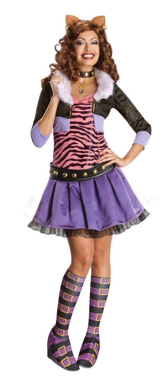 Костюм Клодин Вульф из Monster High (40)