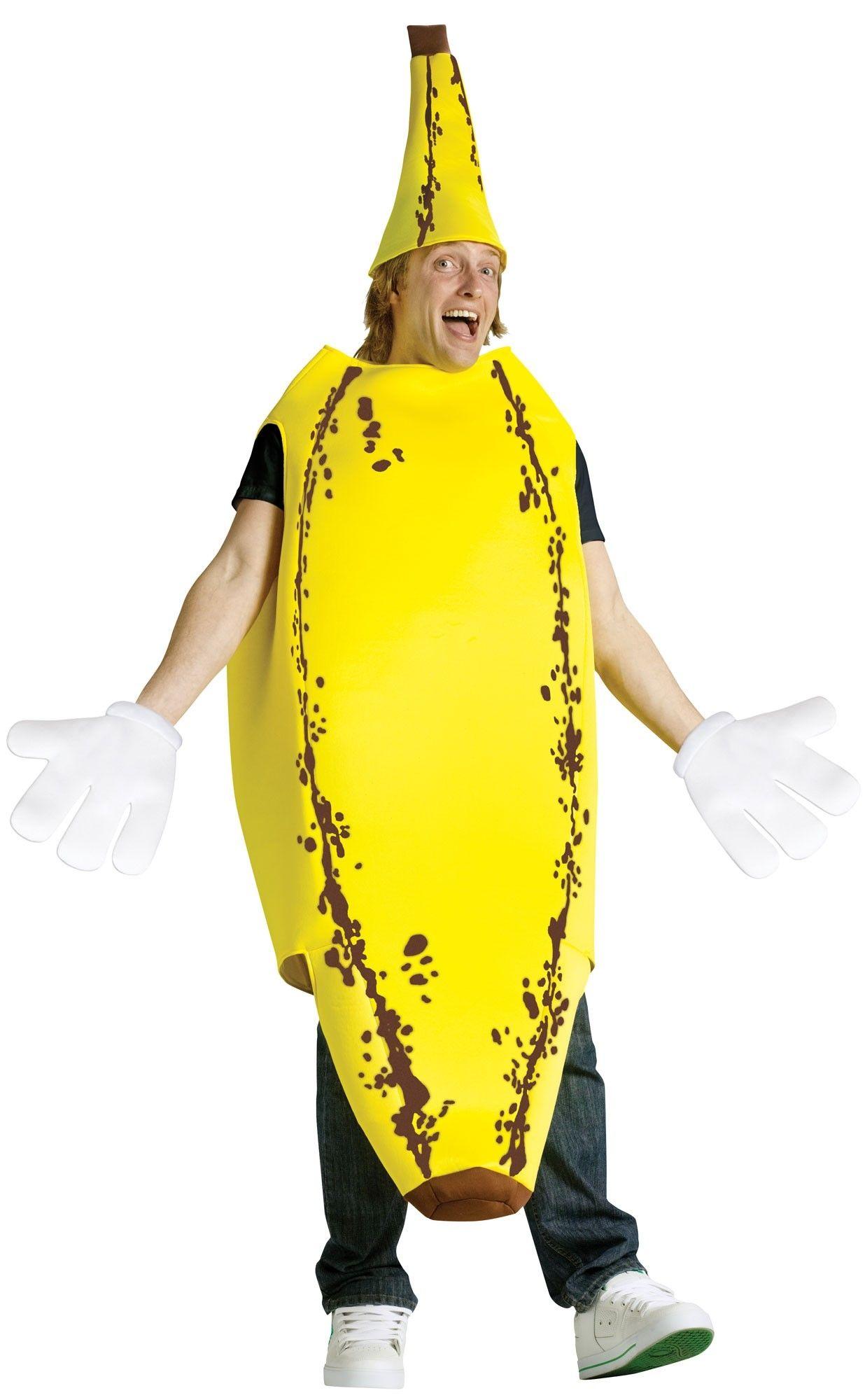 Костюм спелого банана (42-52) костюм безумца в маске 42 52