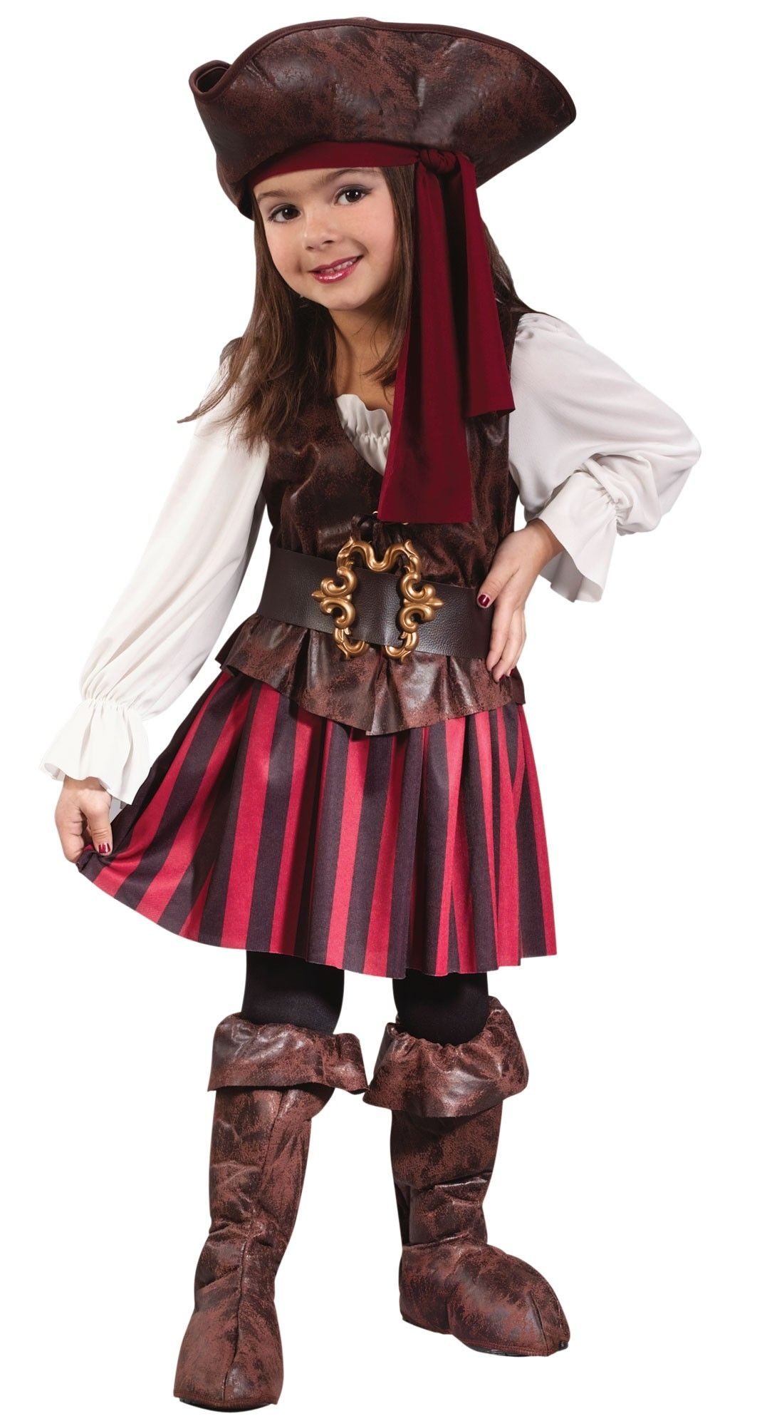 Пиратский костюм для девочки