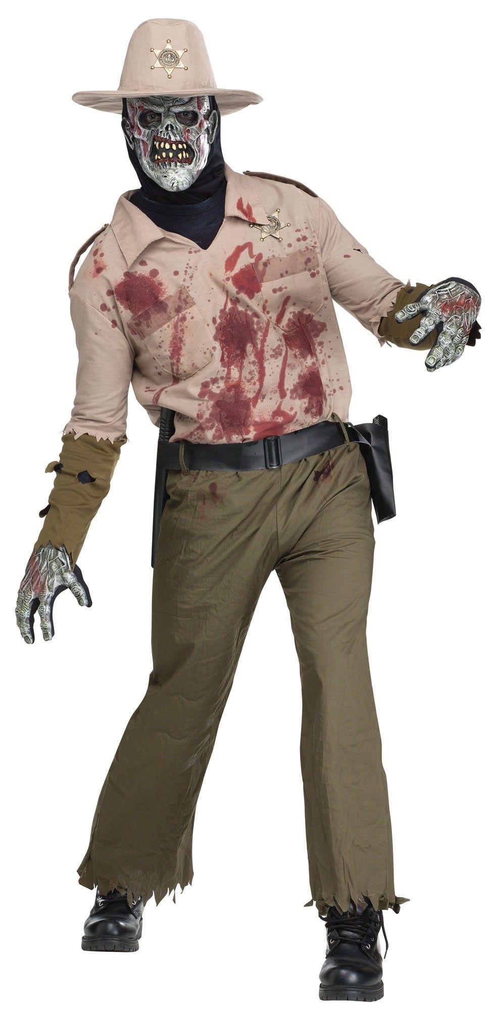 Взрослый костюм Зомби шерифа (46)