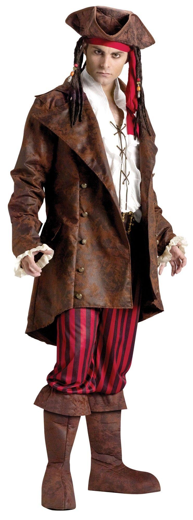 Длинный пиджак пирата (42-52)