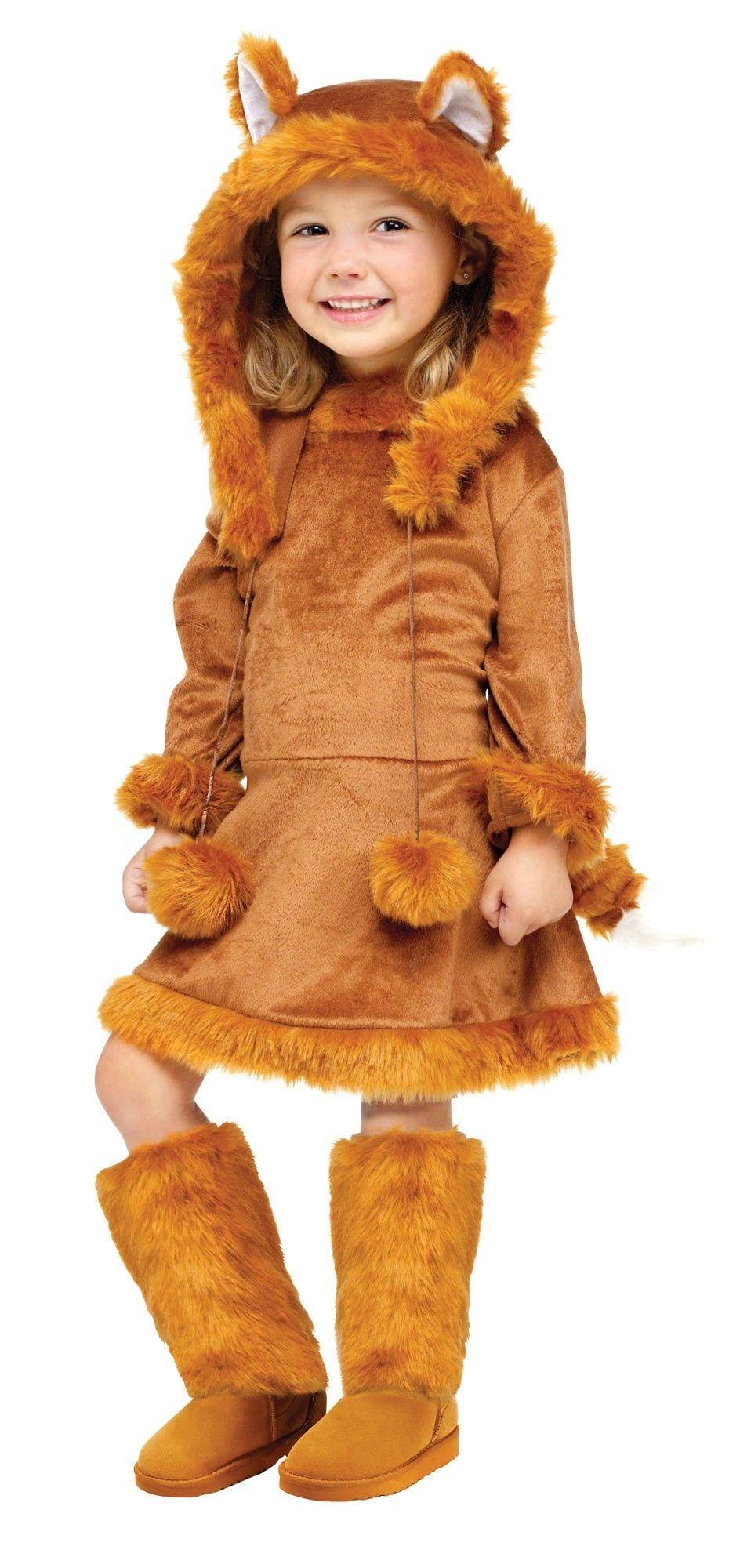 цена Детский костюм рыжей лисицы (28) онлайн в 2017 году