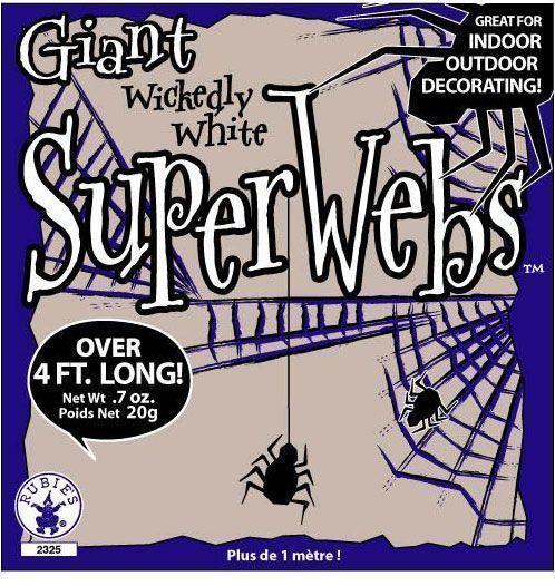 Паутина с пауком 20 грамм от Vkostume