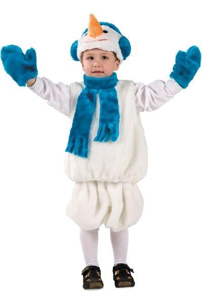 Костюм милого снеговичка детский (28)