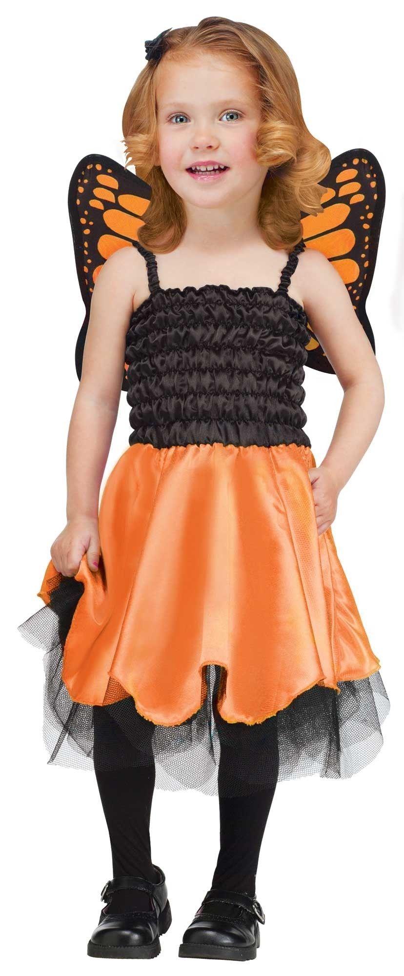 Детский костюм оранжевой Бабочки (28) детский костюм озорного клоуна 34