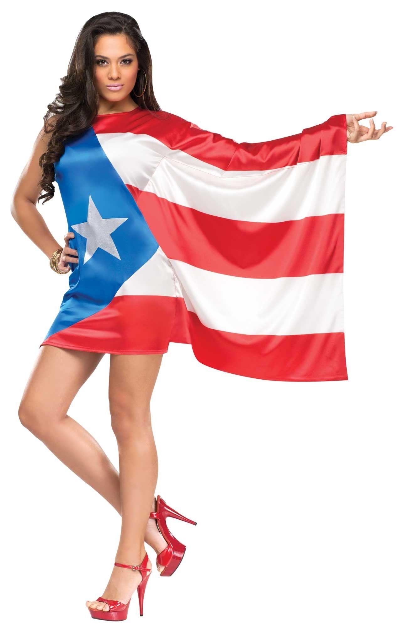 Костюм Флаг Пуэрто-Рико (48) пальто рико в киеве