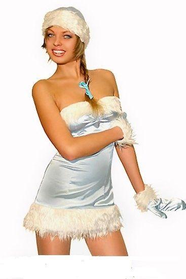 Секс костюм снегурочки